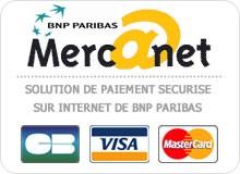 Site sécurité BNP PARIBAS Mer@anet