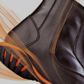 Boots, chaussures et mini-chaps