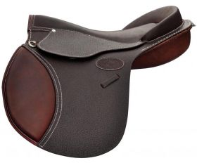 Selle Cuir Poney Obstacle Guy Cantin