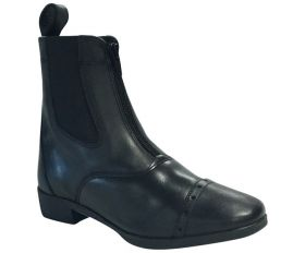 Boots equitation cuir Annecy Noir Performance