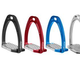 Etriers Stephi 2.0 Prestige Noir; Rouge, Bleu Roi et Argent