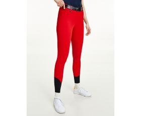 Pantalon Femme Kneegrip Style Primary Red Tommy Hilfiger Equestrian