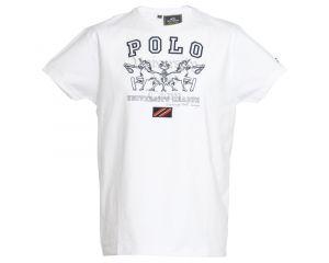 Tee-Shirt jersey Homme Esperanzo Hv Polo Eté 2013 blanc