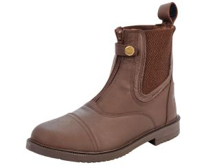 Boots équitation cuir Vallery Marron Performance