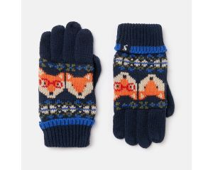 Gants Enfant Toasty Gloves Navyfoxfi Joules