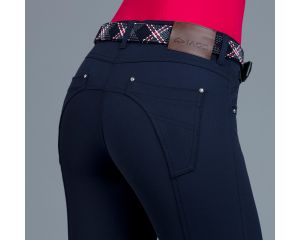 Pantalon Equitation Femme Mara Bleu Marine Iago