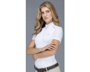 Polo concours Femme Blanc Mia Iago