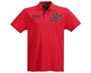Polo Equitation Homme manches courtes Haven Rouge HV Polo