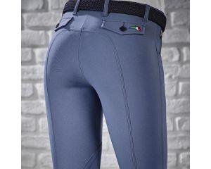 Pantalon Equitation Fille Boston Bleu - Schoeller Textiles AG Equiline