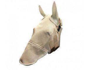Masque Fly mask anti-mouche avec oreilles Professional's Choice Beige