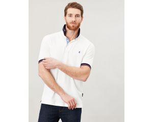 Polo homme Hanfield Blanc Joules