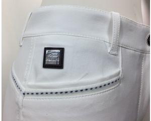 Pantalon Equitation Fille Margret Blanc - Schoeller Textiles AG Equiline