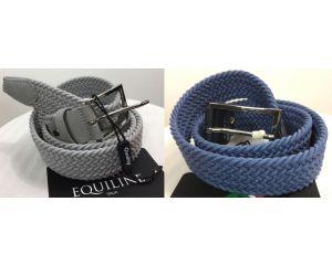 Ceinture élastique Braid Equiline Gris ou Bleu