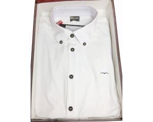 Chemise concours Homme Oster Blanc Animo Italia