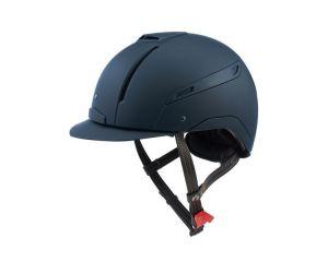 Coque de casque équitation CAPMONO Bleu Marine Jin Stirrup