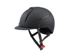 Coque de casque équitation CAPMONO Noir Jin Stirrup