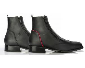 Boots d'équitation Lecco avec zip sur le côté Sergio Grasso