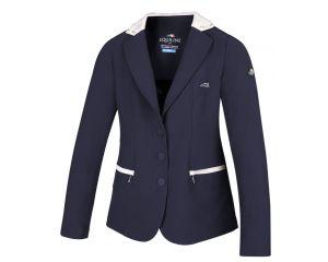 Veste de concours Fille Ambra Bleu Marine Equiline