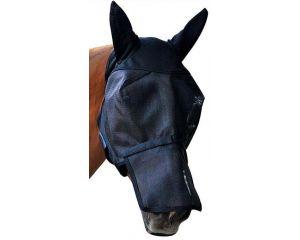 Fly Mask avec oreilles avec nez amovible cheval anti-UVA Absorbine