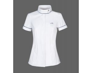 Chemise concours Femme Havana Blanche Equiline