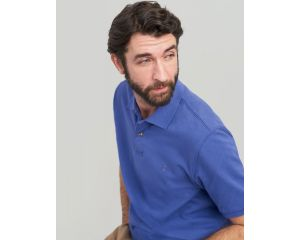 Polo Homme Woody Classic Fit Bleu Joules