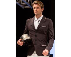 Veste de concours Homme Alberto Noir  Equiline W16
