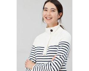 Sweatshirt Femme Saunton Classic Crème Joules
