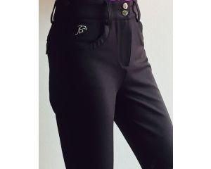 Pantalon Equitation de concours Femme Silea Noir taille Haute Anna Scarpati