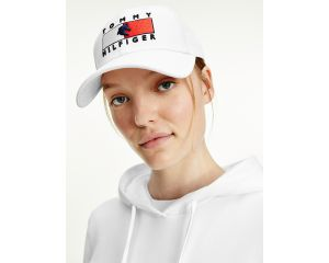 Casquette femme blanche Tommy hilfiger Equestrian