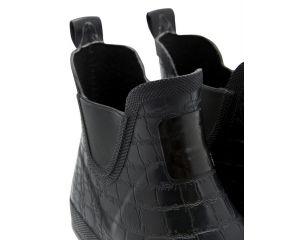 Boots caoutchouc Femme CrockingtnBob Noir Croco Tom Joule