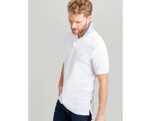 Polo Homme Woody Slim Fit Blanc Joules