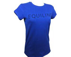 Tee-shirt Femme Zoe Bleu Equiline
